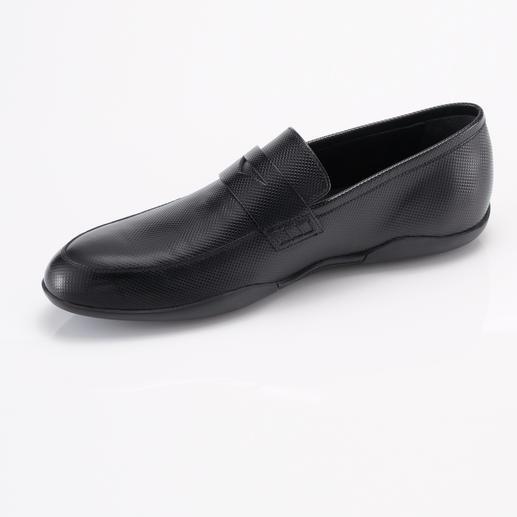 Harrys of London Check Print-Loafer Ein stilvoller Freizeit-Loafer – aber rutschfest wie ein Surfer-Schuh. Von Harrys of London.