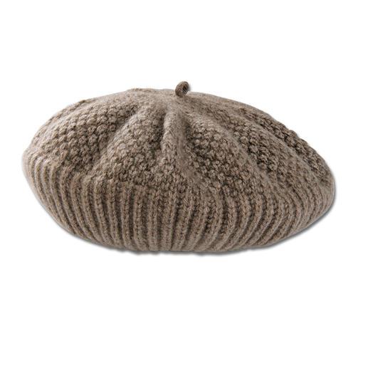 Mütze, Beige