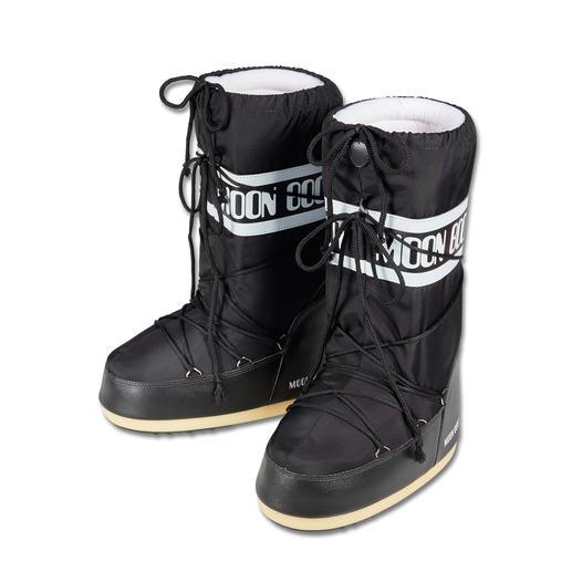 Original Moon Boot® Unverwechselbar klobige Form, aber dennoch federleicht: der original Moon Boot®.
