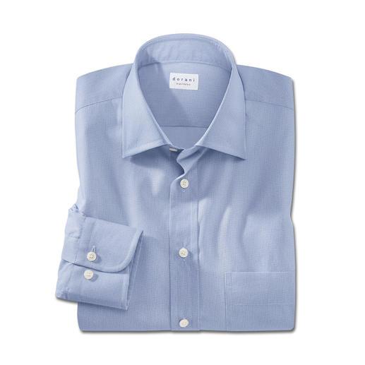 Faux-Uni-Hemd Die modische Alternative zum klassischen hellblauen Hemd.