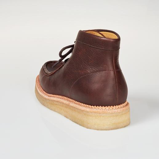 Clarks Wallabee-Boots Mode-Revival eines Kult-Klassikers: Der Wallabee von Clarks, England. Das Original mit der Kreppsohle.