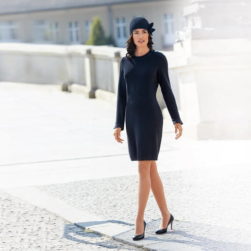 Laulhère Schleifen-Mütze Ihr wohl unkompliziertester Hut. Oder Ihre eleganteste Mütze.