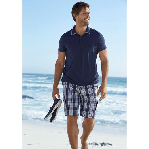 Aigle UV-Schutz Baumwoll-Polo Endlich UV-Schutz in reiner Baumwolle.