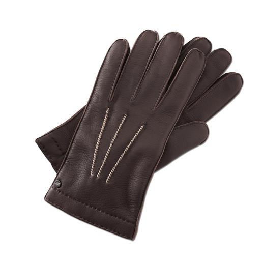 Merola Hirschleder-Handschuh - Seltenes Hirschleder: unvergleichlich weich und doch robust. Handgefertigte Luxus-Handschuhe aus Italien.