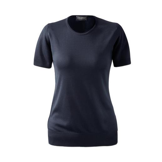 John Smedley 30-Gauge-T-Shirt, Damen Viel angenehmer als gewöhnliche T-Shirts. Aber genauso vielseitig zu kombinieren. Von John Smedley/England.