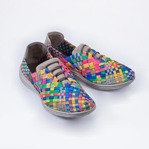 """bernie mev. Flecht-Sneaker, Multicolor/Grau Flecht-Sneaker vom """"Master of woven Footwear"""". Bequemer, leichter und luftiger können modische Sneaker kaum sein."""