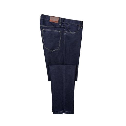 Hiltl Seiden-Jeans - Veredelt mit Seide: die sommerliche Luxus-Jeans. Glatter. Weicher. Luftiger. Salonfähiger. Von Hiltl.
