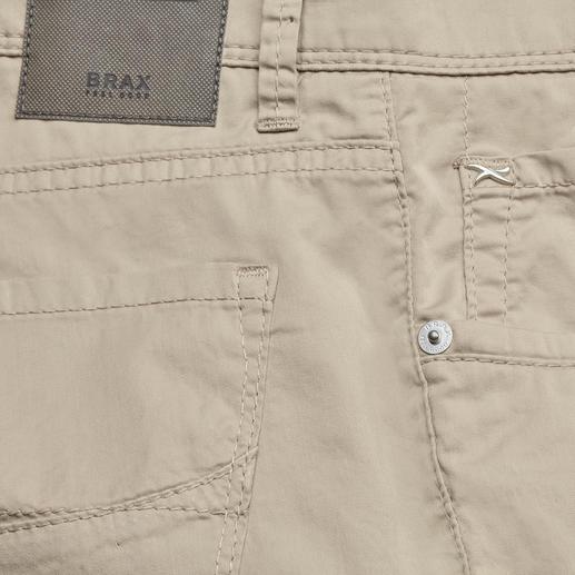 Brax Ultraleicht-Baumwollhose Die leichteste Baumwollhose in der 65-jährigen Geschichte von Brax. Wiegt nur 280 g in Gr. 50.