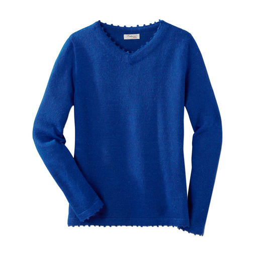 Alpaka-Reisepullover Damen Ihr wichtigster Reisebegleiter: ein 200 g-Pullover?