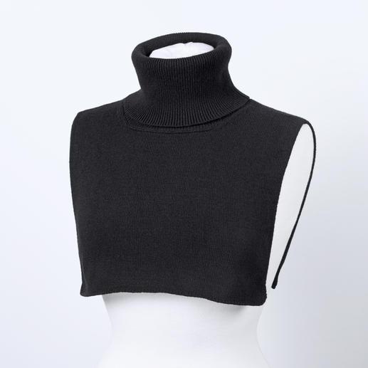 Liu Jo Rollkragen-Einsatz Der Rollkragen erlebt ein Mode-Revival. Dieser trägt nie auf. Und hält nie zu warm.