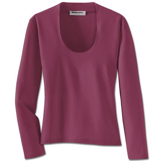 Dieses pflegeleichte Shirt ersetzt ganz oft Ihre Bluse. Dieses pflegeleichte Shirt ersetzt ganz oft Ihre Bluse.