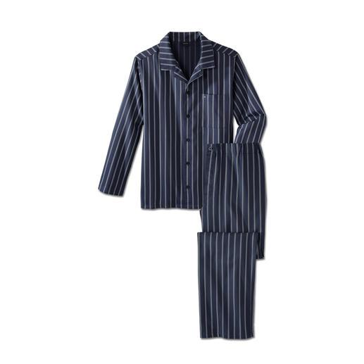 Seidensticker Twill-Pyjama Nicht zu warm. Nicht zu kalt. Eben genau richtig für erholsamen Schlaf.