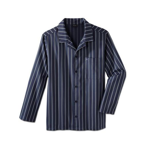 Seidensticker Twill-Pyjama - Nicht zu warm. Nicht zu kalt. Eben genau richtig für erholsamen Schlaf.