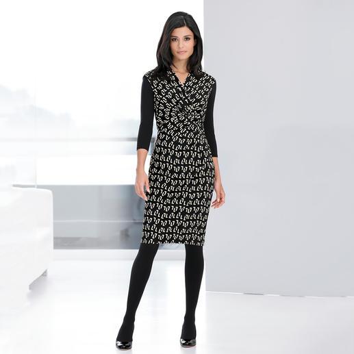 Barbara Schwarzer Grafik-Dress Das elegante Designerkleid für jeden Tag und jeden Anlass.