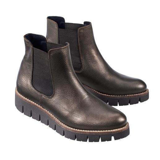 Apple of Eden Chelsea-Boots Modisch aktualisiert. Hochwertig hergestellt. Und sehr fair kalkuliert. Der Chelsea-Boot von Apple of Eden.