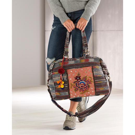 Smitten Ethno Overnight-Bag Verbindet Ethno und Ethik auf schöne und nachhaltige Weise.