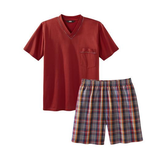 Lieblings-Pyjama No. 24 Ihr Lieblings-Pyjama zum kleinen Preis. Reine Baumwolle, sauber verarbeitet, made in Germany.