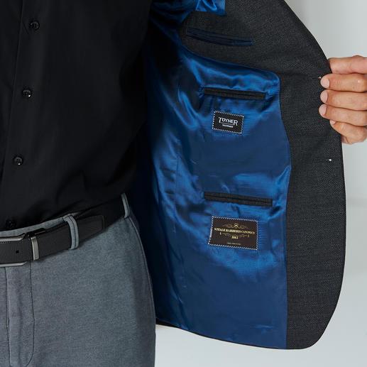 Mesh-Sakko Kombinationswunder Das Kombinationswunder unter Ihren Sakkos – ideal für die Reise mit kleinem Gepäck. Passt auch zu semi-formellen Anlässen, ohne braune Schuhe oder Gürtel zu verlangen.