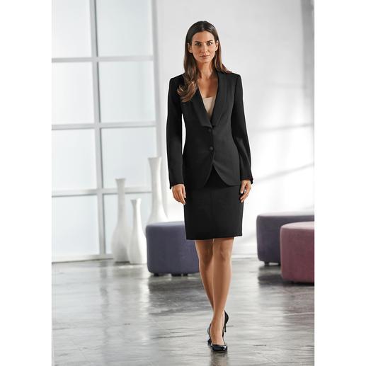 Easywear-Gehrock, -Blazer, -Hose oder -Rock Die perfekte Basis für Ihre Business-Garderobe: der 4-Teiler aus unkompliziertem High-Tech-Material.