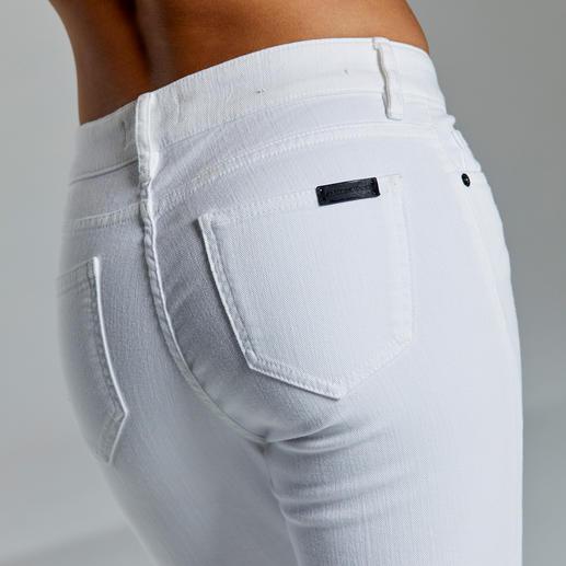 Strenesse Business-Jeans White Jeans im Job? Nur ganz wenige sind wirklich akzeptabel.