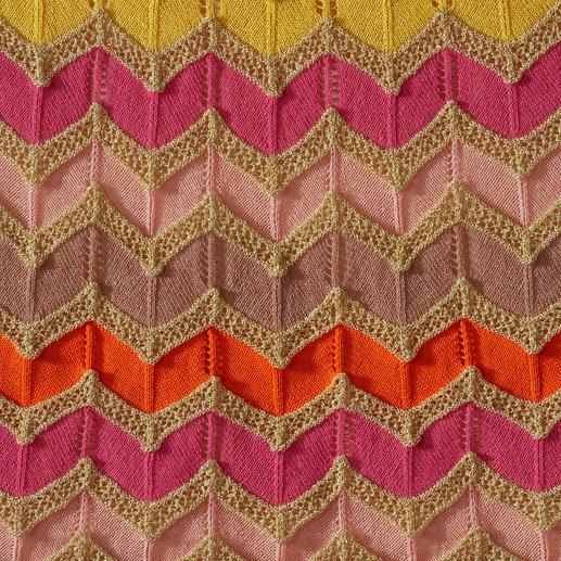 M Missoni Wellenstrick-Kleid, candycolour M Missonis Wellenstrick-Klassiker in den aktuellen Sommer-Trendfarben.