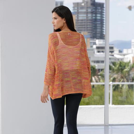 M Missoni Lurex-Oversize-Pulli High-Fashion-Strick mit angesagtem Lurex-Glanz – aber ohne Kratz-Effekt. Von M Missoni.