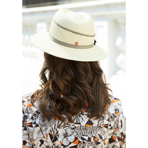 Mayser Damen-Panamahut Der feminine unter den edlen Sommerhüten. Mit UV-Schutz 40. Von Mayser.