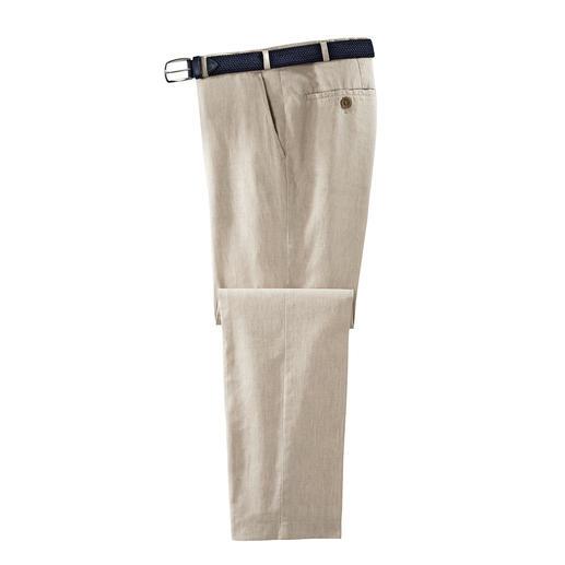 Hoal Business-Leinenhose Weich fließend, knitter- und bügelarm - die Business-Leinenhose von HOAL.