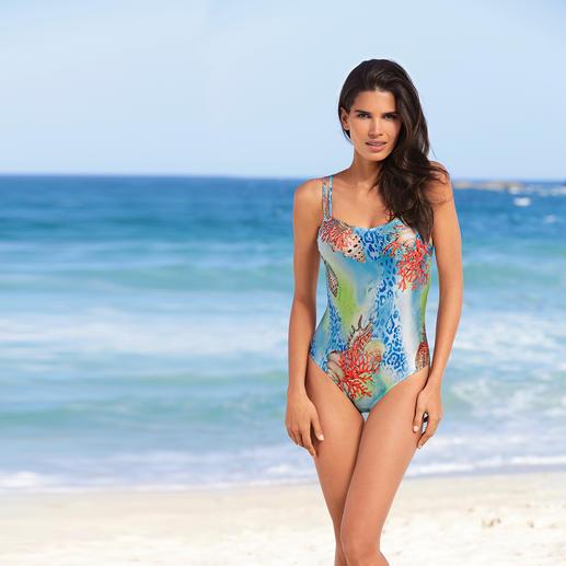 """SunSelect®-Badeanzug """"Koralle"""" Dieser Badeanzug wirkt wie eine gute Sonnencreme."""