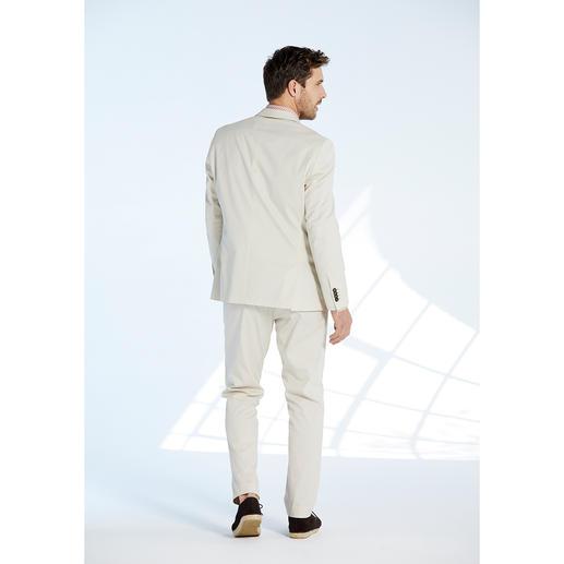 """Carl Gross Baumwoll-Anzug """"Ceramica"""" Der ideale Anzug für Business und Reise: sommerliches Baumwoll-Tuch – und doch kaum Knitter."""