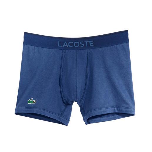 Lacoste Herren-Pants Zeitgemäß farbige Herren-Pants. Vom Kultlabel und Spezialisten für farbigen Baumwoll-Piqué: Lacoste, Frankreich.