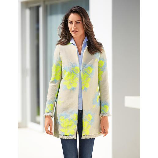 All Yours Ethno-Long-Jacket Angesagter Ethno-Stil. Aktuelle Long-Form. Und kombinierfreudiger als die meisten Jacken des Trends.