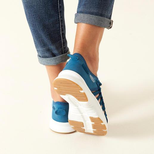 "KEEN® Outdoor-Sneaker ""Uneek™ 02"", Damen 2 Schnüre + 1 Sohle = der derzeit wohl innovativste Outdoor-Sneaker."