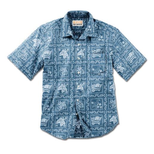 Reyn Spooner Hawaii-Hemd Lāhainā Sailor Ihr Hawaii-Hemd sollten Sie auf Hawaii kaufen. Oder ...