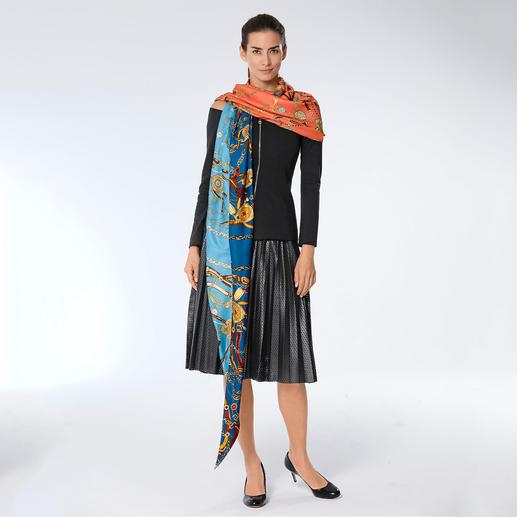 Ebony & Ivory Oversize-Tuch Angesagt oversized: Das XXL-Tuch vom viel besprochenen Accessoire-Label Ebony & Ivory.