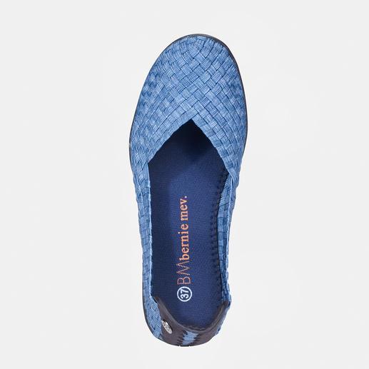 """bernie mev. Flecht-Ballerinas Der Fashion-Hit aus New York: Sportliche Flecht-Ballerinas vom """"Master of woven Footwear"""", bernie mev.."""