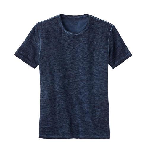 van Laack Leinen-T-Shirt Ihre natürliche Klimaanlage an heißen Tagen: das T-Shirt aus reinem Leinen.