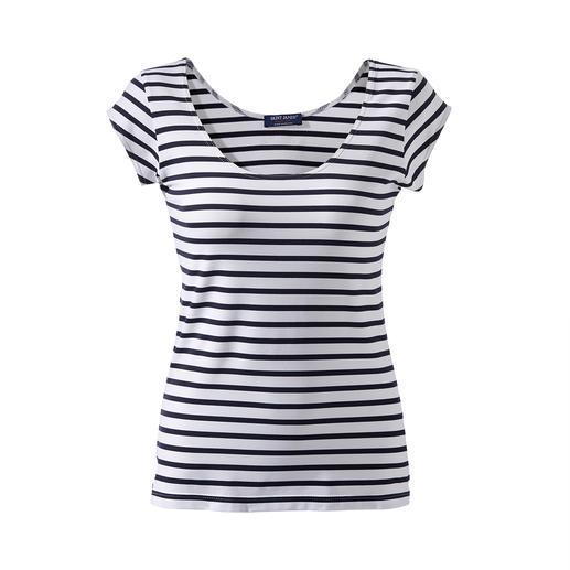 Bretagne Mikrofaser-Shirt Das Bretagne-Shirt aus Meryl®: Figurfreundlich geschnitten, unglaublich bequem und pflegeleicht.