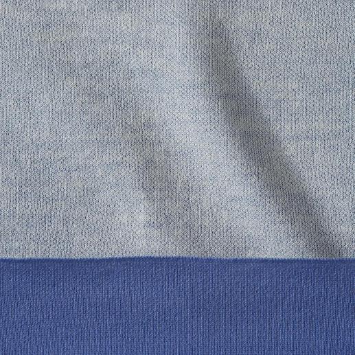 Doubleface-Wendepullover Der vielseitigere Wendepullover: 2 Farben. 2 Qualitäten. Und nur 140 g.