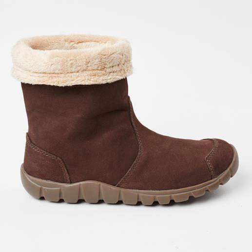 Lizard Teddyfutter-Stiefel Wasserdicht wie Gummistiefel. Atmungsaktiv wie Lederschuhe. Leicht wie Sneakers.