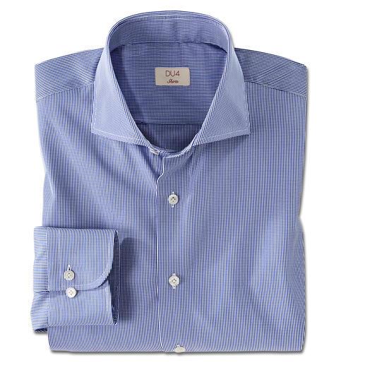 Dufour GIZA-Baumwollhemd 80 Kilometer feinstes Garn machen dieses Hemd so unvergleichlich weich. Aus seltener ägyptischer GIZA 87-Baumwolle.