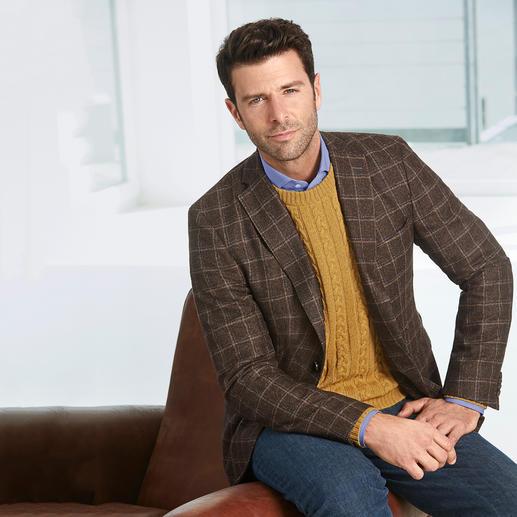 Carbery Zopf-Pullover Nach alter Tradition auf Handstrickapparaten gefertigt. Und doch erfreulich erschwinglich.