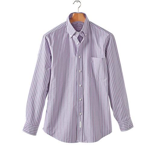 The BDO-Shirt No.47, Gestreift Entdecken Sie einen guten alten Freund. Und vergessen Sie, dass ein Hemd gebügelt werden muss.