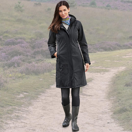 Ilse Jacobsen Thermo-Raincoat Selten ist Funktion so schick.