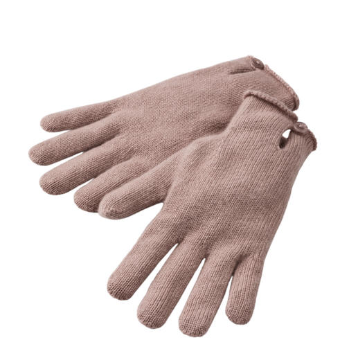 Kaschmir-Mütze, -Handschuhe oder -Schal Praktisch, trendy. Und aus reinem Kaschmir.