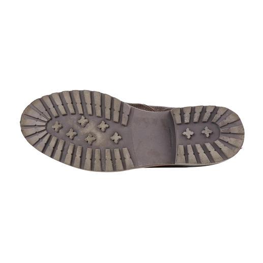 Cordwainer Elchleder-Wanderstiefel Seltenes, butterweiches Elchleder. Flexibel rahmengenäht. Und nahezu unverwüstlich.