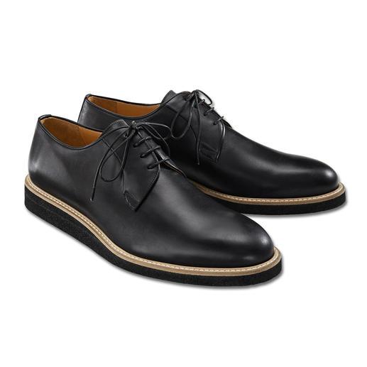 Piaceri Derby-Sneaker Korrekt wie ein klassischer Business-Schuh. Aber bequemer, moderner und vielseitiger.