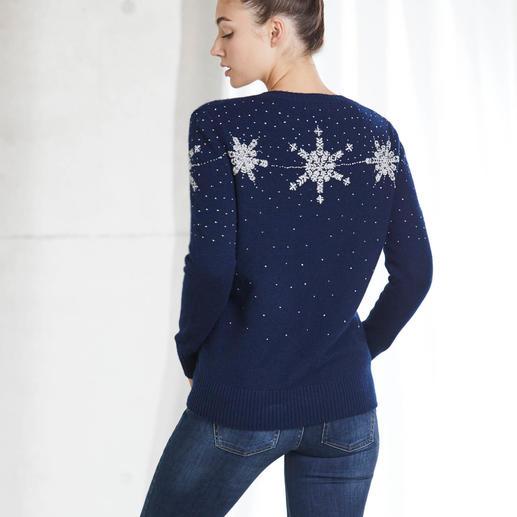 "Heartbreaker Kaschmirpullover ""Wintermärchen"" Der luxuriöse unter den angesagten Christmas-Sweatern."