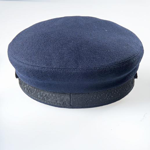 Bretonische Kappe Bewährt auf rauer See. Begehrt als topmodisches Accessoire: Die Bretonische Kappe.