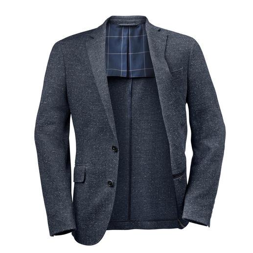 Hackett Donegal-Tweed Jersey-Sakko - Das edle unter den bequemen Jersey-Sakkos.